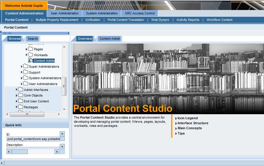 EP - Portal Content Studio